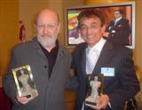 Jorge Romano junto a Marcos Mundstock
