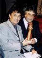 Jorge y Alberto en los Premios Santa Clara