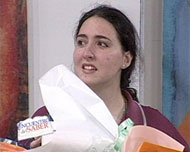 Ganadora Daniela Porticella  y su gran emoción.